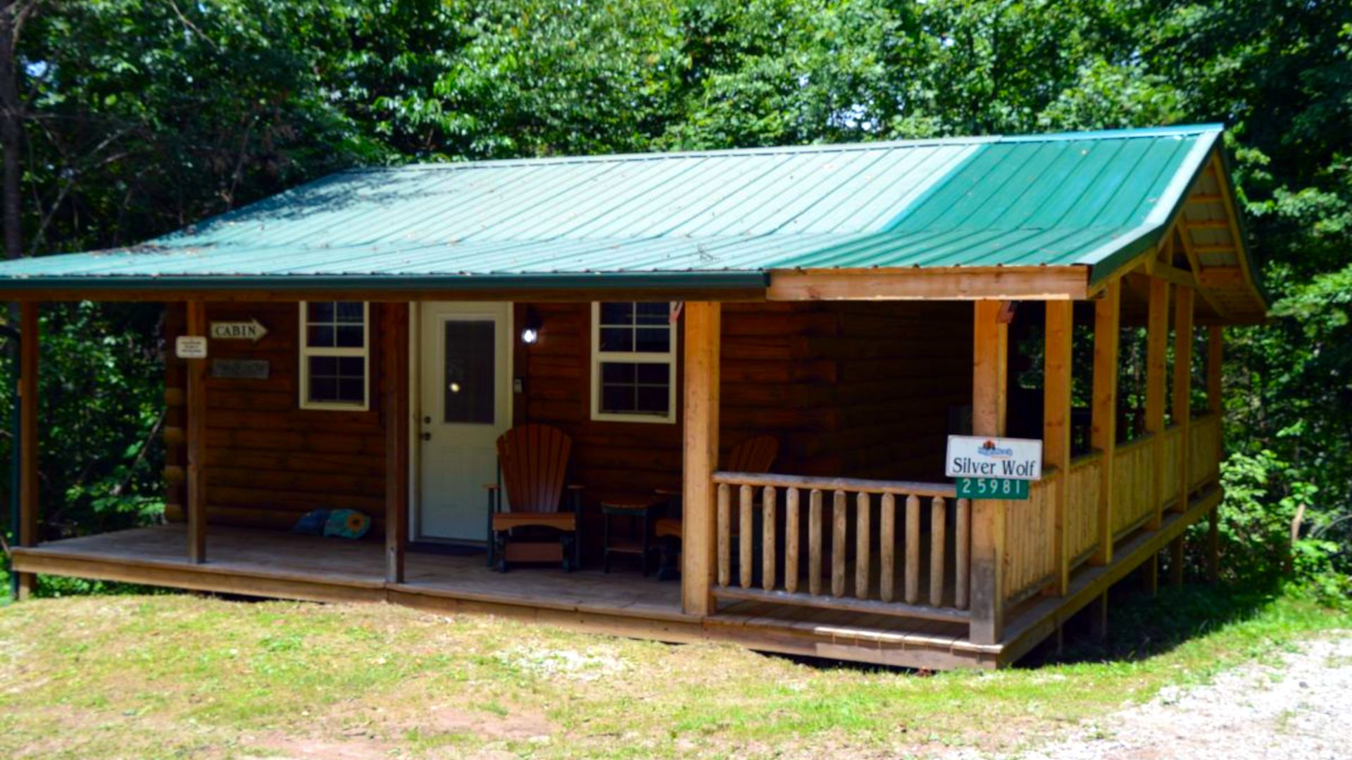 Hocking Hills Lodging Company Silver Wolf Cabin