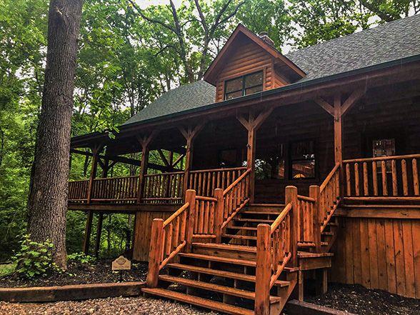 Hocking Hills Lodging Company Aspen Hollow Lodge
