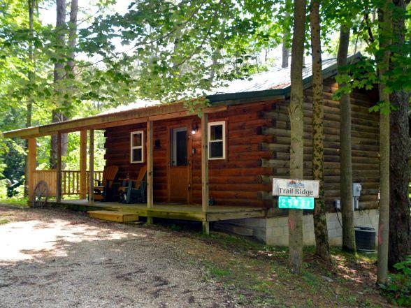 Hocking Hills Lodging Company Trail Ridge Cabin