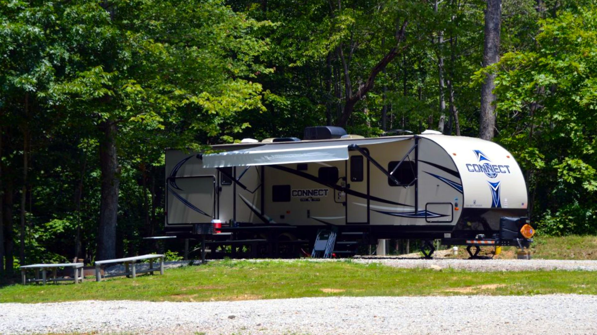 RV Site Hocking Hills